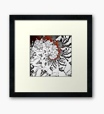 Swirling Patterns Framed Print