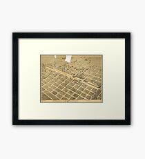 Abilene 1883 Framed Print