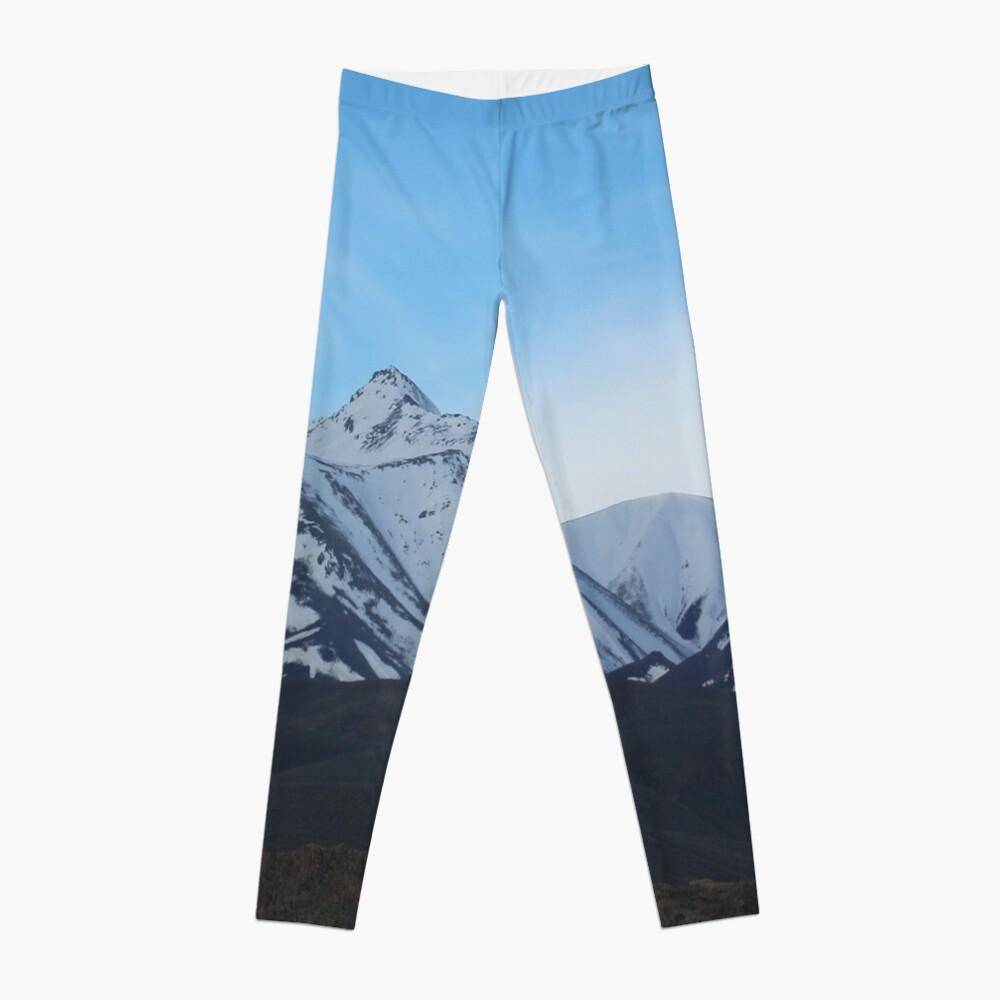 Grand Tetons Mountains Leggings Front