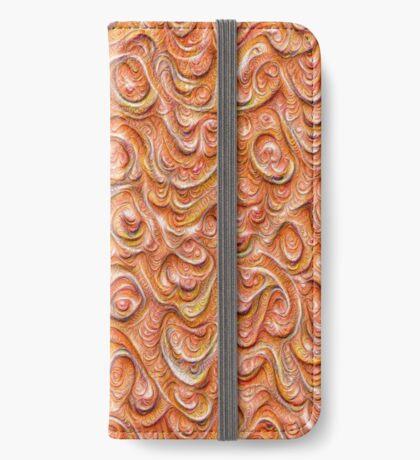Surface texture #DeepDream #Art Red iPhone Wallet