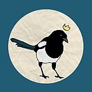 King Magpie [Tee] by Kay Allan