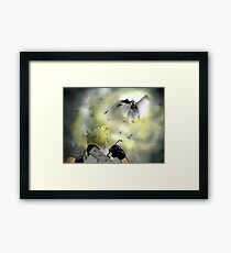 Duel of the Fates - FF7 Cloud & Sephiroth Framed Print