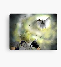 Duel of the Fates - FF7 Cloud & Sephiroth Canvas Print