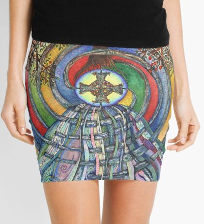 Christ Centred Living Mini Skirt