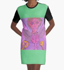 wing and a prayer Graphic T-Shirt Dress