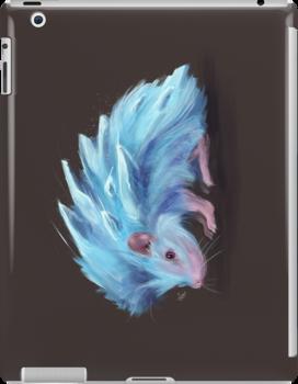 Ice Hedgehog by nicolealesart