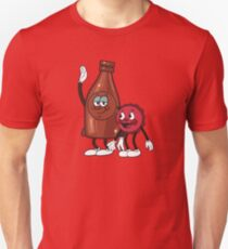 Bottle and Cappy Unisex T-Shirt