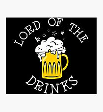 Lord Of The Drinks Photographic Print