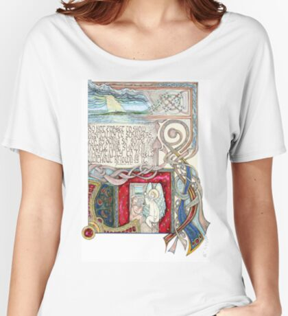 Hospitality to Angels Women's Relaxed Fit T-Shirt