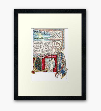 Hospitality to Angels Framed Print