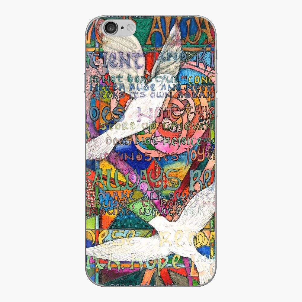 Liebe ist iPhone Klebefolie