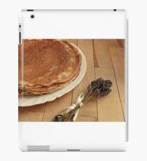 diet healthy eating pancakes iPad Case/Skin