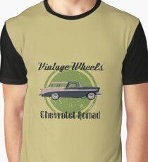 Vintage Wheels: Chevrolet Nomad Graphic T-Shirt