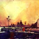 Venice by night by Maja Wrońska