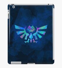 Majora's Crest Blue iPad Case/Skin