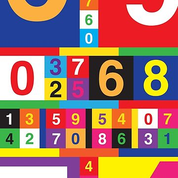 Coloured Numbers by cyberchameleon