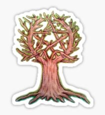 Pentacle Tree Sticker