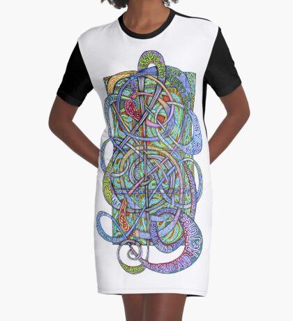 Praise Him With Sound Graphic T-Shirt Dress