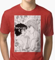 Love and flowers Tri-blend T-Shirt
