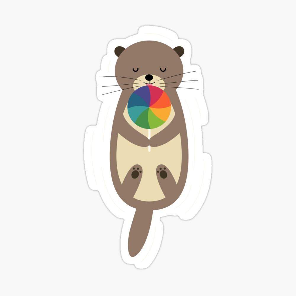 Sweet Otter Sticker