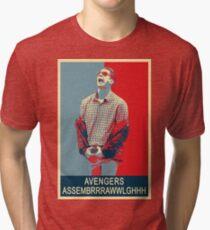 Avengers assembrrrrrawwwwwlghhh Tri-blend T-Shirt
