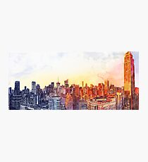 Sunshine in NYC Photographic Print