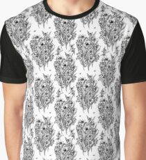 Daffodil dreaming in black and white Graphic T-Shirt