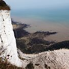 Cliff Top View from the Saxon Shore Way, Kent by John Gaffen