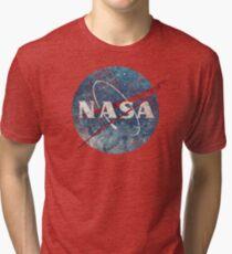 NASA Space Agency Ultra-Vintage Tri-blend T-Shirt
