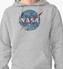 NASA Space Agency Ultra-Vintage Pullover Hoodie
