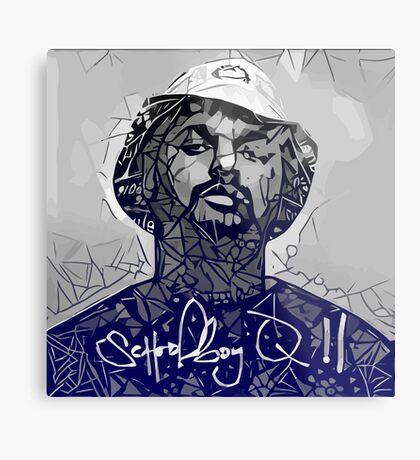 Faded School Boy Q II Metal Print