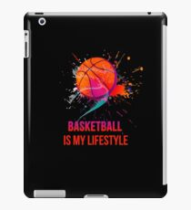 Basketball is my lifestyle iPad Case/Skin