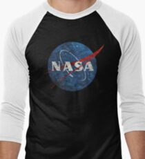 NASA Vintage Emblem Men's Baseball ¾ T-Shirt