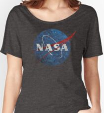 NASA Vintage Emblem Women's Relaxed Fit T-Shirt