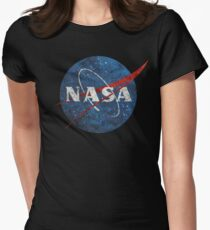 NASA Vintage Emblem Women's Fitted T-Shirt