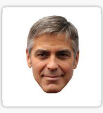 George Clooney Sticker