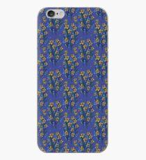 Daffodil dreaming in blue iPhone Case