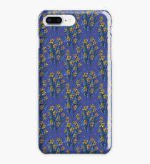 Daffodil dreaming in blue iPhone 8 Plus Case