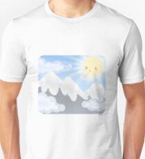 Cute Sky 30- Mountains T-Shirt