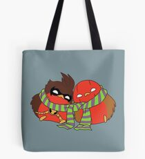 Go!Robins! - Cozy Birds Tote Bag