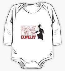 Body de manga larga para bebé Todos los días soy Dumblin '