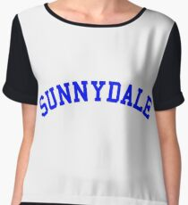 buffy sunnydale Women's Chiffon Top
