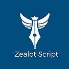 Zealot Script Logo with Title by ZealotGroup