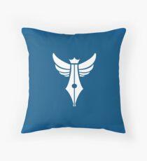 Zealot Script Logo Throw Pillow
