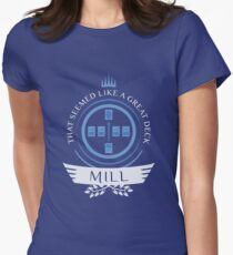 Magic The Gathering - Mill Life Womens Fitted T-Shirt