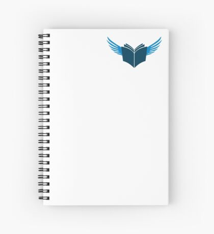 Zealot Script Flying Book Spiral Notebook