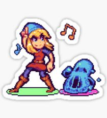 Pixel Art - Crypt of the NecroDancer Sticker
