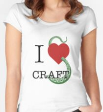 I Lovecraft Women's Fitted Scoop T-Shirt