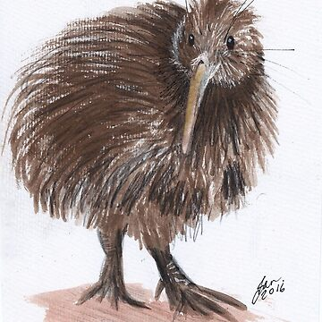 New Zealand kiwi by andorianlad