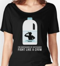 Fight Milk - Fight Like a Crow Women's Relaxed Fit T-Shirt